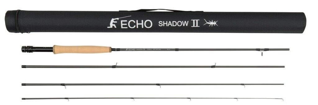 Echo Shadow II 3100-4 Fly Rod - 10' - 3wt - 4pc - NEW