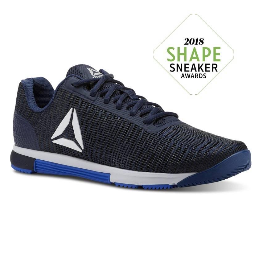 REEBOK SPEED TR FLEXWEAVE mens  crossfit training shoes blueE   NAVY   WHITE