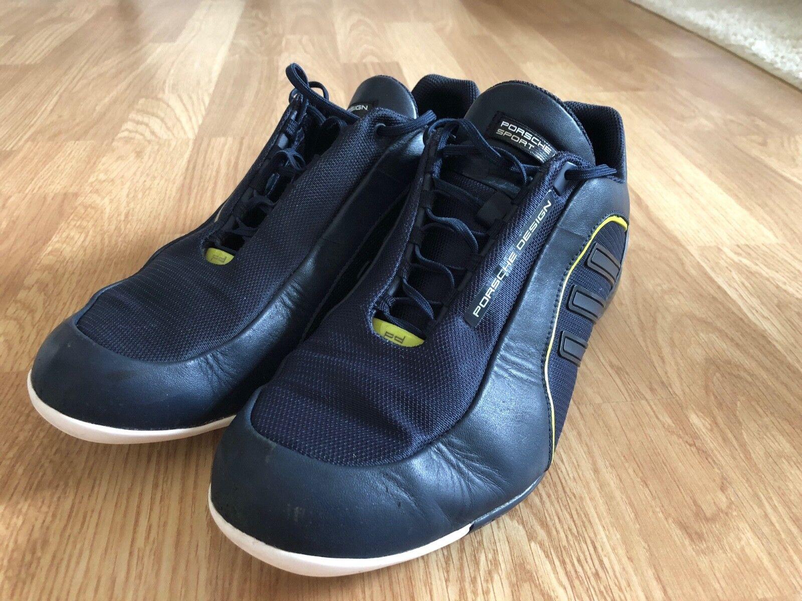 Porsche Design Adidas Schuhe dunkelblau Größe 40,5