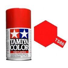 Tamiya TS-86 Brilliant Red Spray Paint Can 3 oz 100ml Mid America