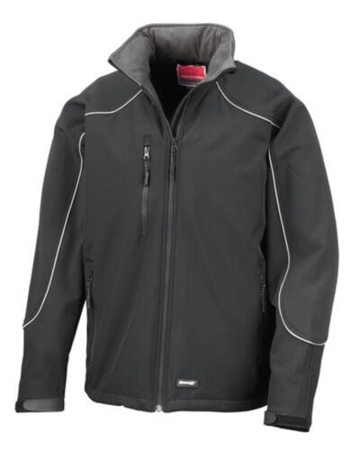 ICE pelliccia hooded Soft Shell Jacketresult work-Guard