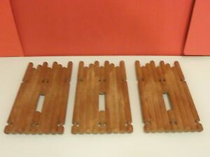 Playmobil-Western-lote-3-piezas-empalizada-fuerte-del-oeste-y-romanos-anos-80