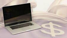 """Apple MacBook Pro A1286 15"""" ME293LL/A i7 2GHz, 8GB No HD Early 2011 #ELDF8V"""