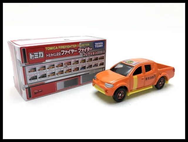 TOMICA Lottery 22 FireFighter Collection Mitsubishi Triton 1//66 TOMY NEW 109