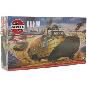 Airfix 02316V WWII US Army DUKW 1//76 Scale Plastic Model Kit