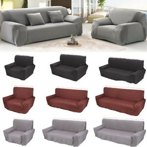 Peachy Details About 1 2 3 4Seater Stretch Fit Elastic Fabric Sofa Cover Couch Covers Spandex Protect Ncnpc Chair Design For Home Ncnpcorg