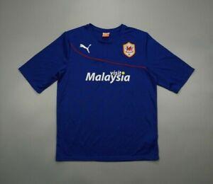Cardiff City 2013 2014 Away Football Soccer Shirt Jersey Puma Camiseta Kit Wales