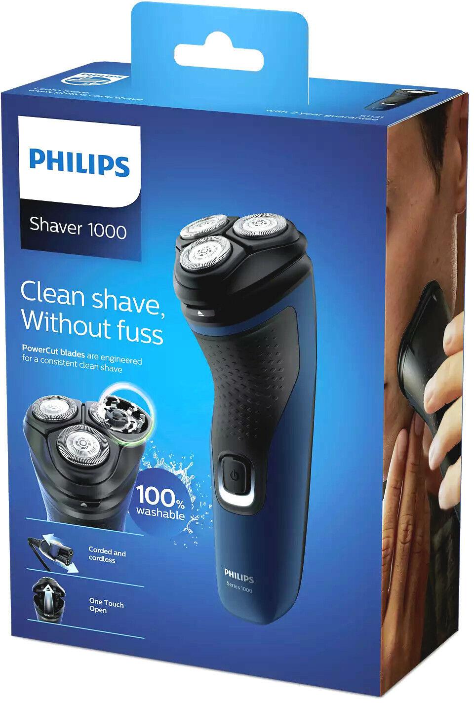 Philips Series 1000 S113141 Trockenrasierer Rotationsrasierer Rasierer