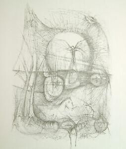 DDR-Kunst-1974-034-A-Rimbaud-Lithographie-Thomas-RANFT-1945-D-handsigniert