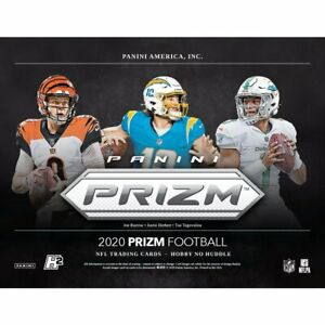 Los-Angeles-Chargers-2020-Prizm-No-Huddle-Football-Hobby-Case-Break-20-Boxes