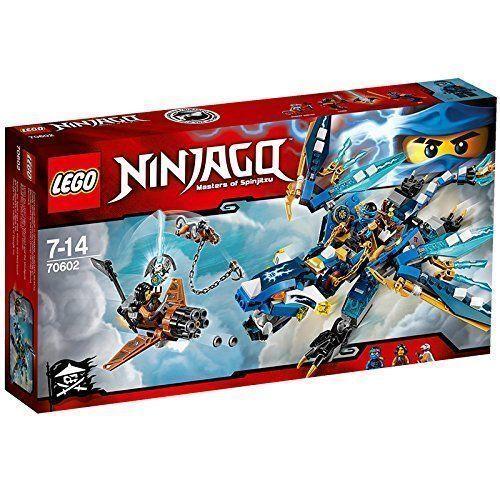 LEGO NINJAGO IL DRAGONE ELEMENTARE DI JAY - LEGO 70602