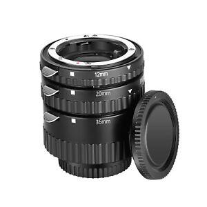 Neewer 12mm/20mm/36mm Autofokus Makro Verlängerungsrohr Set Für Nikon DSLRs