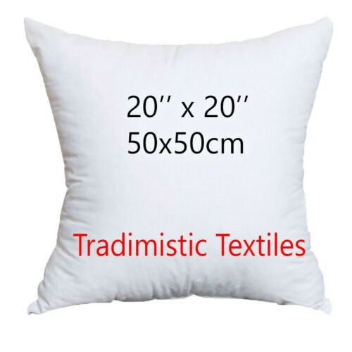 """Cushion Pads Inners Hollowfibre inserts Filling Fillers Plump Scatter 20/"""" x 20/"""""""
