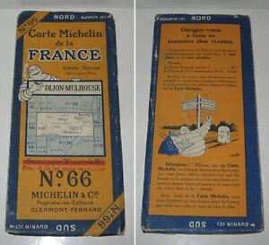 Carte Bourgogne Michelin.Details Sur Carte Michelin N 66 Dijon Mulhouse 1926 Be Bibendum Bourgogne Franche Comte