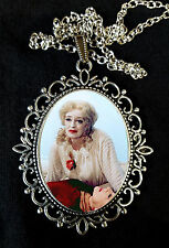 Bette Davis Baby Jane Film Collana con pendente grande 60s Crawford DVD HORROR CAMP