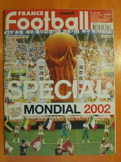 France Football N° 2928 du 21/05/2002- Spécial Mondial 2002