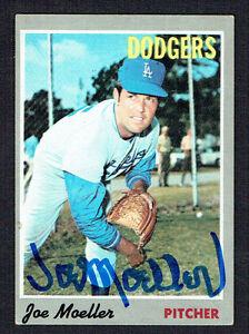 Joe-Moeller-97-signed-autograph-auto-1970-Topps-Baseball-Trading-Card