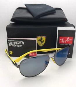 De Soleil 8313 Sur W F003h0 Lunettes Gunmetal Ferrari Rb Détails M Ray Carbon Ban Fibre TlFKJ1c