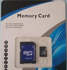 32GB Class 10 Micro SD Card + Adapter TF SDHC Flash Storage Memory BRITISH STOCK
