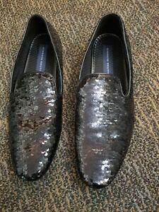 Giorgio Brutini Black Sequins Loafer