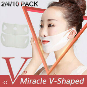 Wrinkle-Chin-Neck-Line-Cheek-Lift-Up-Slim-Miracle-V-Shaped-Slimming-Mask-Beauty