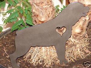 ROTTWEILER PET DOG MEMORIAL GARDEN YARD LAWN DECOR K9 | eBay