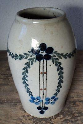 Antike Keramik Vase Jugendstil Einen Effekt In Richtung Klare Sicht Erzeugen