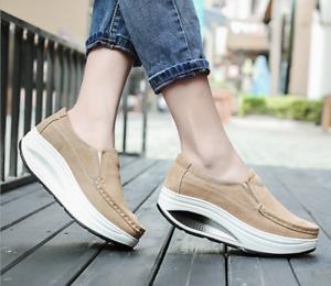 Women/'s Athletic Shake Shoes Platform Sneakers Casual Running Sports Walking
