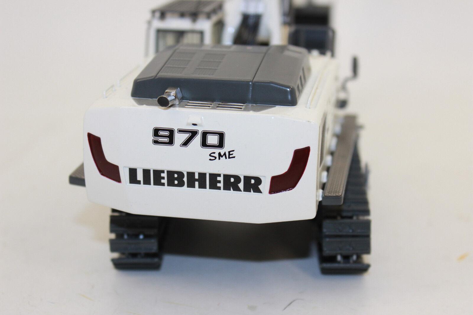 Wsi 04-1156 Liebherr R 970 Crawler Excavator White Kobi 1 50 New Boxed