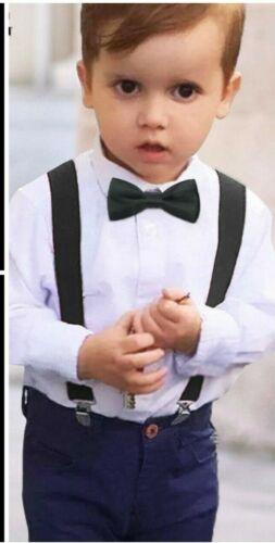 Royal Stewart Bow Tie Tartan Rouge Bretelles Jarretelles Burns Night Sash page Boy