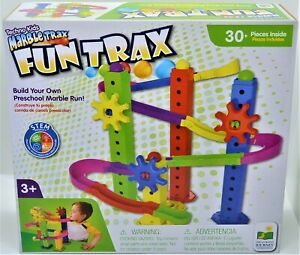 Marble Trax Fun Trax Build Your Own Marble Run For