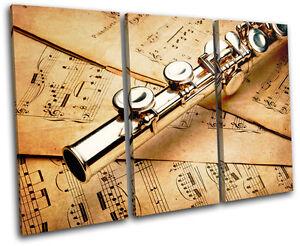 Piano INSTRUMENTS  Musical TREBLE CANVAS WALL ART Picture Print VA