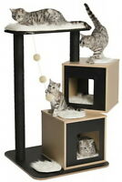 Vesper Cat Condo V-double, Black