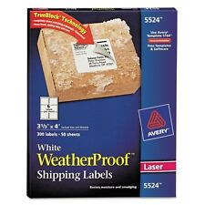 Avery Weatherproof Mailing Labels - 5524