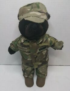 "Bear Force Of America Plush Bear VTG 1989 Large 20/"" Stuffed Teddy Ira Green Toy"