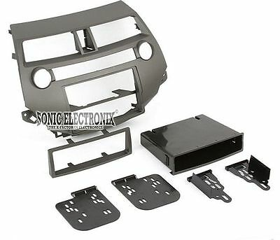 Universal Double Din Mounting Metal Installation Kit Fitting Cage for 2 DIN in Dash Car Stereo Radio