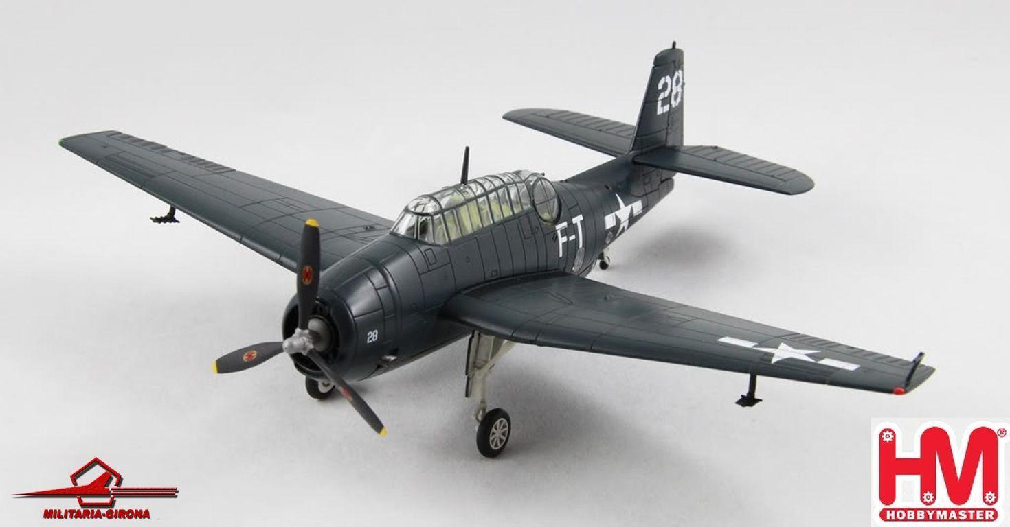 Hobby Master 1:72 Air Power Series HA1202 TBM-3tm Squadron 79M