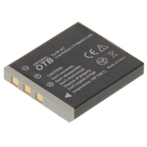 Batería Li-ion cga-s004e para Praktica luxmedia 7403 8303