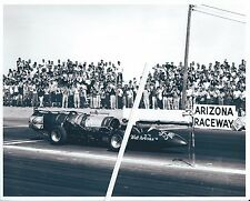 "1960s Drag Racing-""Green Monster""-Walt Arfons' Jet Powered Dragster-Arizona"