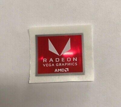 Genuine AMD RX Vega Graphics Card PC Sticker Badge NEW