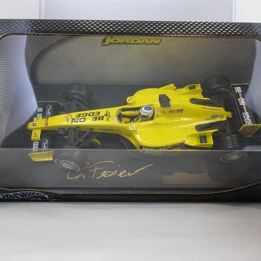 1 18, Giancarlo Fisichella, Jordan Formula 1, 1, 1, B1649 Hand Signed 8041cc