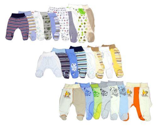 5-tlg Baby Set Hose mit Füßchen Größe 50-86
