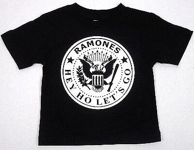 RAMONES Baby Infant T-shirt Punk Rock Star Tee 6M,12M,18M,24M Blitzkrieg Bop New