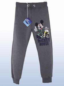 disney-mickey-mouse-pantalone-bambino-grigio-tuta-made-italy-official-taglia-4