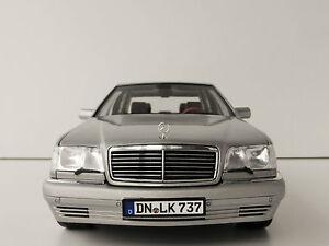 Mercedes benz s600 1997 1 18 norev 183563 mercedes 126 for Mercedes benz s600 ebay