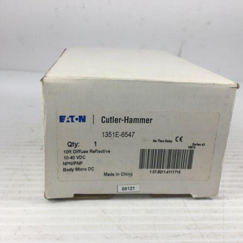 10/' Diffuse Reflective Cutler-Hammer 1351E-6547 Photo Eye