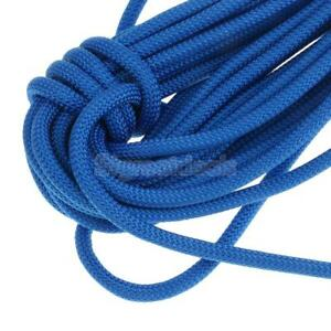 12KN 8mm 10//20//30//40m Outdoor Tree Rock Climbing Rappelling Rope Auxiliary Cord