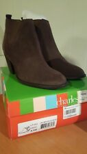e896b02eff3 Charles by Charles David Women s Vaxio Ankle Suede Boot Dk Brown 8.5 M NEW  W