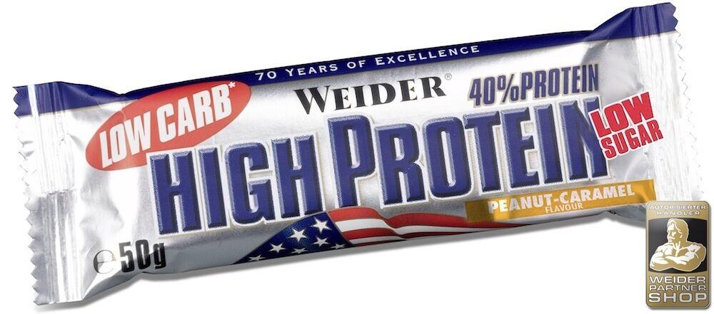 Weider 40% Projoéines Bâton 24 Verrou Á 50  G avec Cocheton (3,20 Eur 100 G)  Con precio barato para obtener la mejor marca.