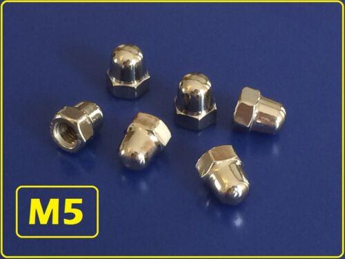 10 Stück Edelstahl Hutmutter M5 nach DIN 1587 M5 V2A